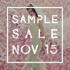designer wedding dress sle sale november 2015 designer