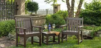 Garden Table Vineyard Garden Furniture By Polywood Vermont Woods Studios