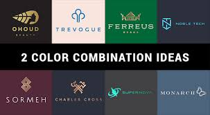 2 color combination 10 best 2 color combination ideas for logo design free swatches