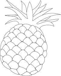 pineapple coloring page 28 images free pineapple printable liz
