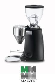 Coffee Grinder Tray Mazzer Mini Electronic Model A Coffee Grinder Matt Black