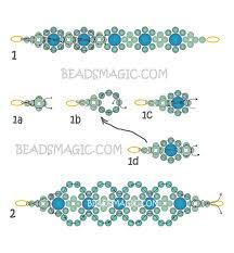 beads bracelet tutorials images 928 best free bracelet bead patterns images jpg