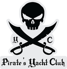 stickers pirate s yacht