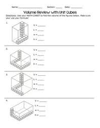 unifix cube volume worksheets google search maths lessons