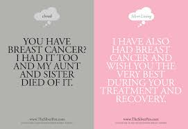 to say to someone with cancer