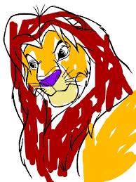 mufasa lion king coloring download u0026 print