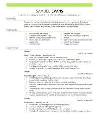 exle of customer service resume fancy food service worker resume skills on food service resume