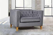 Love Chairs Velvet Modern Armchairs Ebay
