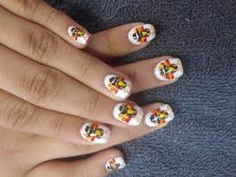 14 cool happy thanksgiving nail designs