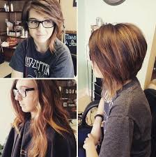 uneven bob for thick hair 10 amazing asymmetrical bobs short hair 2017