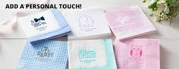 personalized baby shower napkins personalized baby shower