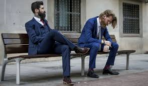 how to choose and style a blue and navy suit the idle man