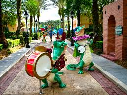 mardi gras alligator mouseplanet disney s port orleans resort by donald and bonnie fink
