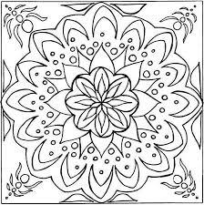 Coloriage a imprimer gratuit de mandala  Bondless