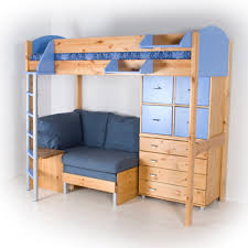 loft bed with dresser u0026 seating area how awesome would this b