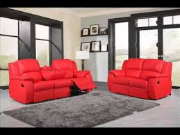 Leather Reclining Sofa Sets Classic Leather Recliner Sofa Set 3 2 Seater