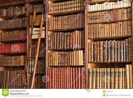 old library with ladder stock photo image of librarian 31512184