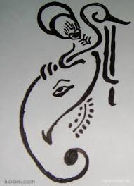 photos simple lord ganesha sketches drawing art gallery