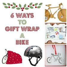 bicycle wrapping paper 6 ways to giftwrap a bike for christmas tikes bikes