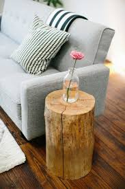 Tree Stump Nightstand Tree Stump End Table Shelby Knox