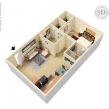 warm 800 square feet house plans 3d 6 sq ft 2 bhk 2t apartment for