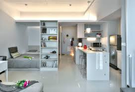 Small Home Interior Decorating Small Taipei Studio Apartment With Clever Efficient Design