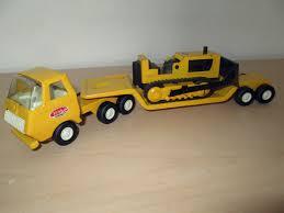 tiny planes tiny tonka semi truck low boy trailer u0026 bulldozer tonka profit