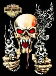two guns and skull tattoos style