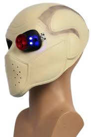 Ebay Halloween Props Xcoser Deadshot Helmet Batman Squad Mask With Led Light