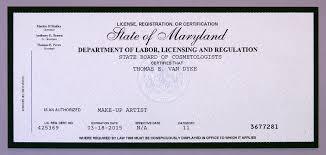 how to get a makeup artist license reston studio make up artist license