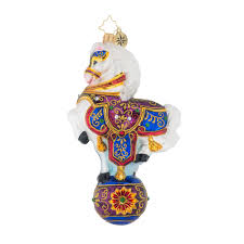 christopher radko ornaments renaissance ride animal ornament 1019106