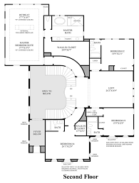 Spanish Floor Plans Toll Brothers At Robertson Ranch The Bluffs The Levante Home