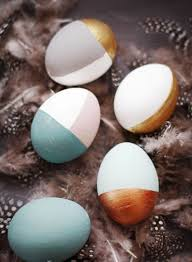 metallic easter eggs 20 modern easter egg décor ideas to rock shelterness