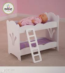 badger basket white rose doll bunk bed fits most 18 dolls my by