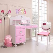 Colorful Love Shape Bla Hello Kitty Bedroom Accessories Beige - Hello kitty bunk beds