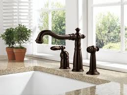 Kitchen Faucets Bronze Finish Kitchen Delta Bronze Kitchen Faucet Inside Awesome Kitchen