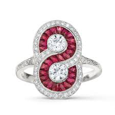 ruby engagement rings ashlee simpson u0027s ruby and diamond engagement ring and 5 super