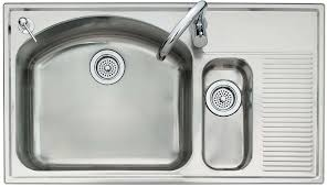Kitchen Sink With Built In Drainboard by American Standard 7510 103 075 Culinaire 39 Inch Dual Level