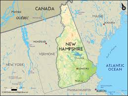 New Hampshire State Map by Heroin In New Hampshire Cordant Solutions