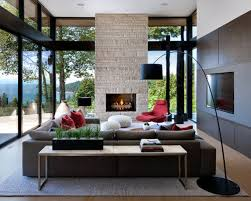 modern livingroom designs inspiration for a modern living room remodel in vancouver with a