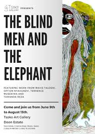 The Blind Men And The Elephant The Blind Men And The Elephant Pachikoro