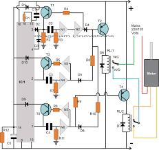 washing machine motor agitator timer circuit circuit