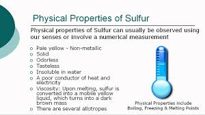 Sulfur On The Periodic Table Sulfur Youtube