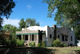 old southwestern home taos new mexico stock photo picture and
