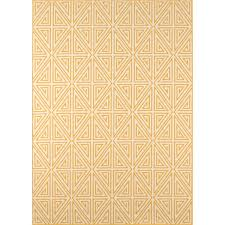 Yellow And White Outdoor Rug Beachcrest Home Halliday Yellow White Outdoor Area Rug Reviews