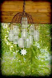 Homemade Outdoor Chandelier by 120 Best Norges Glass Mason Jar Images On Pinterest Mason Jar