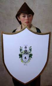 Free Plans To Build A Toy Box by Free Wooden Medieval Shield Plan How To Make A Toy Wood Shield