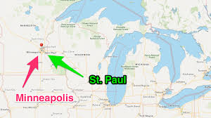 minnesota on map travel thru history visit the cities of minneapolis and st paul