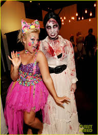 west hollywood halloween party demi lovato dead zombie halloween costume photo 2984111 2013