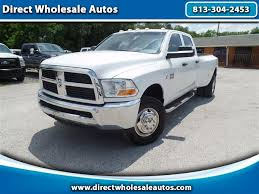 2013 dodge cummins for sale used cars for sale ta fl 33612 direct wholesale autos